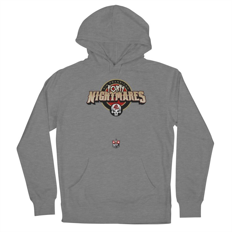 MFL Sin Fransicko Forty Nightmares logo Women's Pullover Hoody by Mutant Football League Team Store