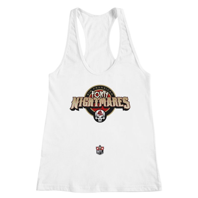 MFL Sin Fransicko Forty Nightmares logo Women's Tank by Mutant Football League Team Store