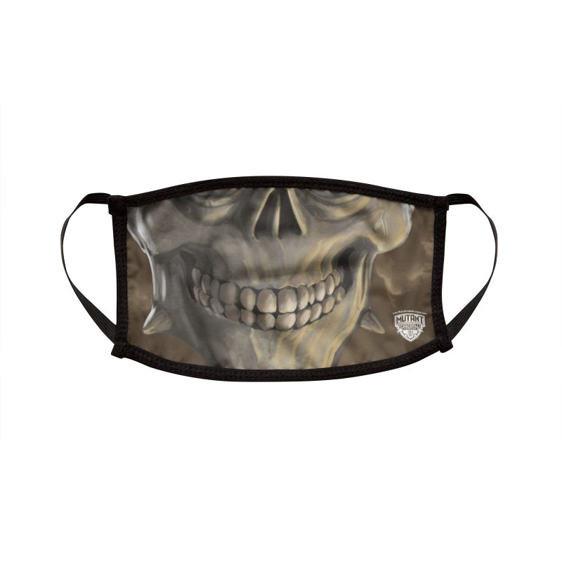 MFL mutant face 1 Accessories Face Mask by Mutant Football League Team Store