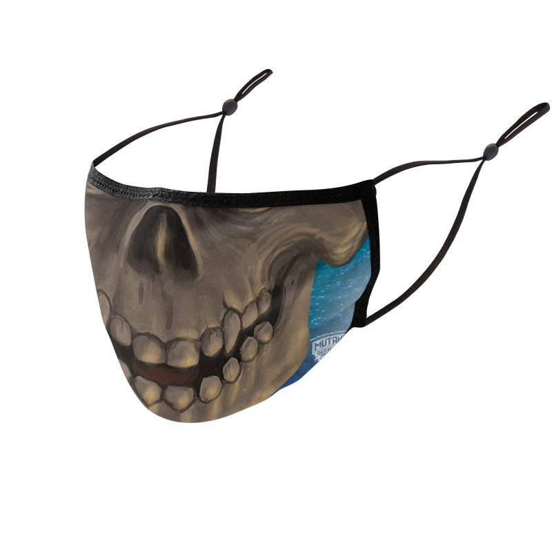 MFL mutant face 2 Accessories Face Mask by Mutant Football League Team Store