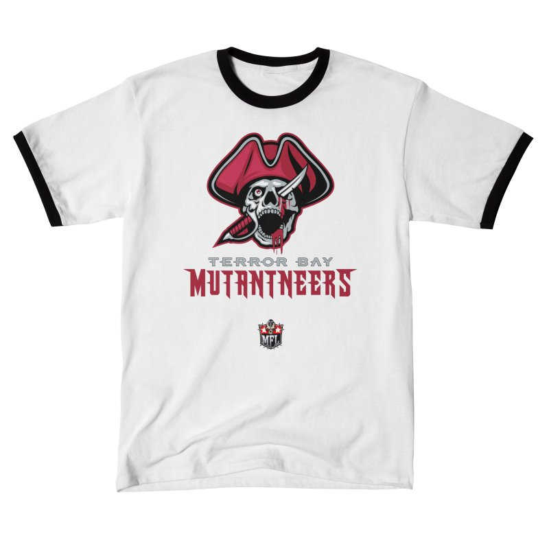 MFL Terror Bay Mutantneers logo Men's T-Shirt by Mutant Football League Team Store
