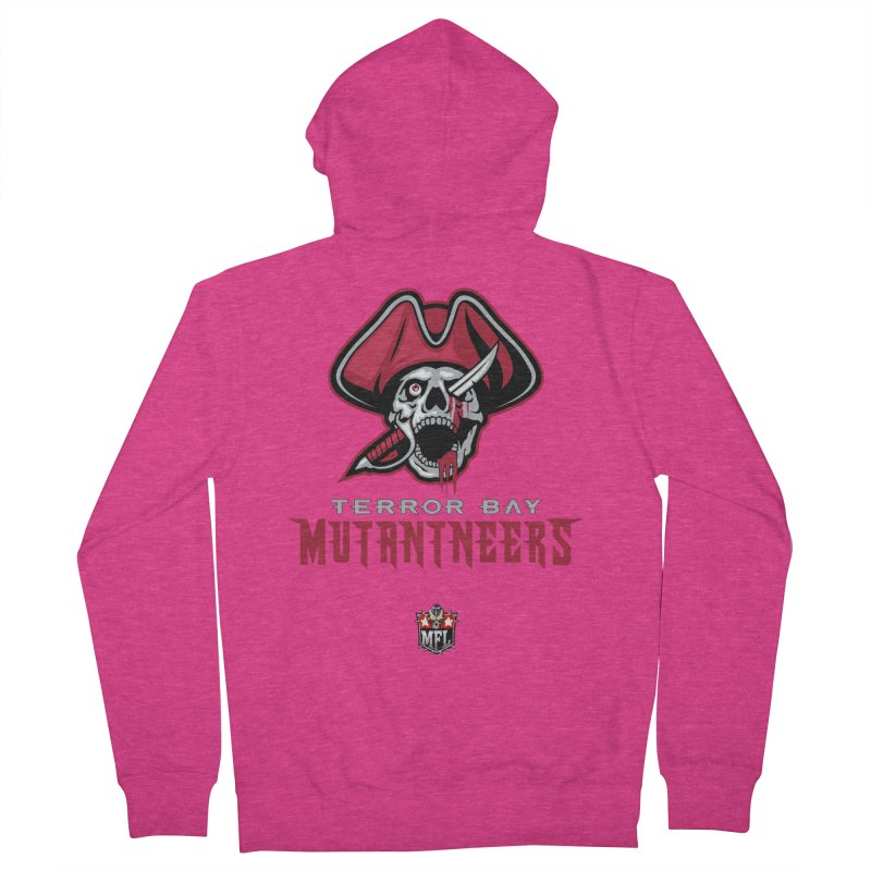 MFL Terror Bay Mutantneers logo Women's Zip-Up Hoody by Mutant Football League Team Store
