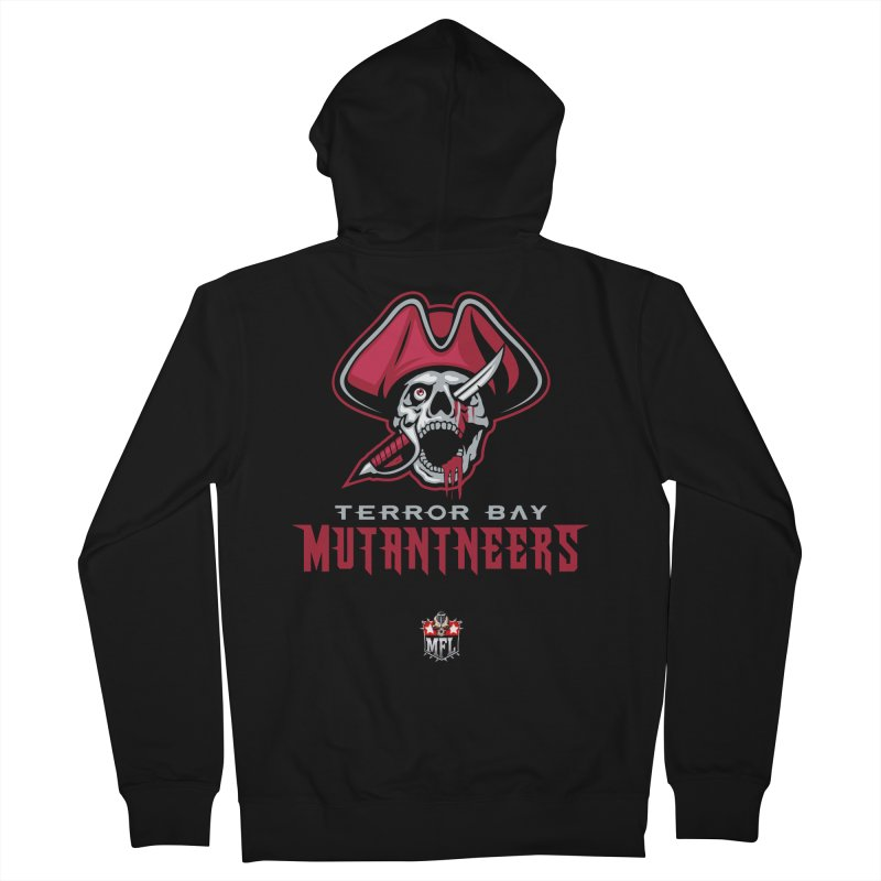 MFL Terror Bay Mutantneers logo Men's Zip-Up Hoody by Mutant Football League Team Store