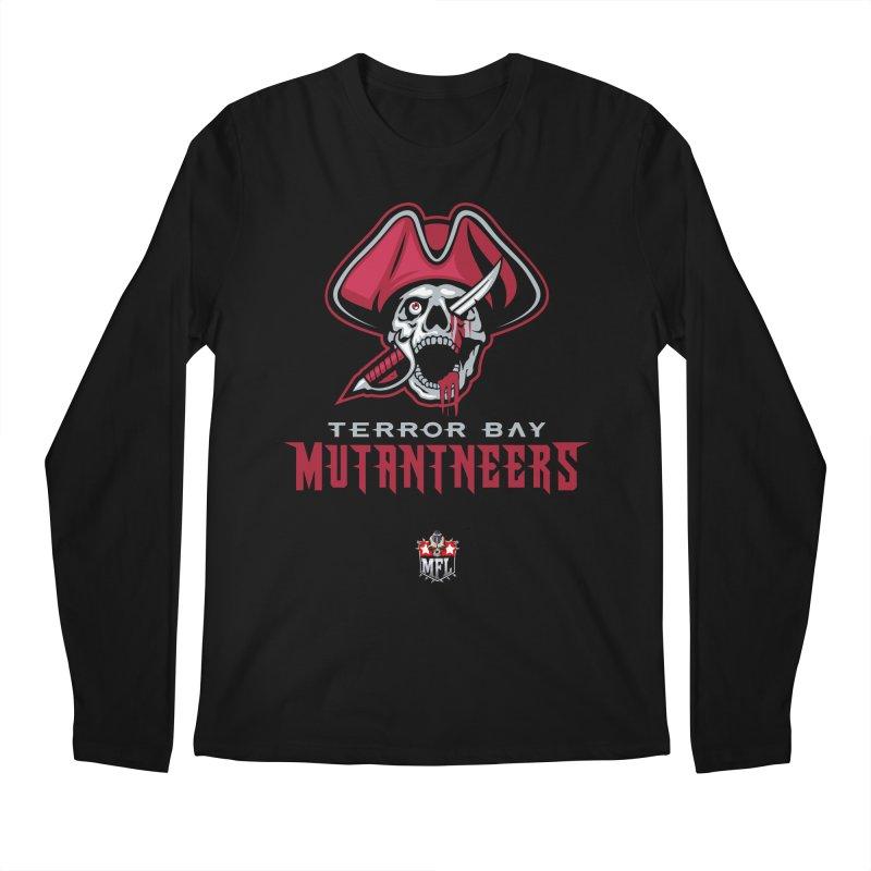 MFL Terror Bay Mutantneers logo Men's Longsleeve T-Shirt by Mutant Football League Team Store