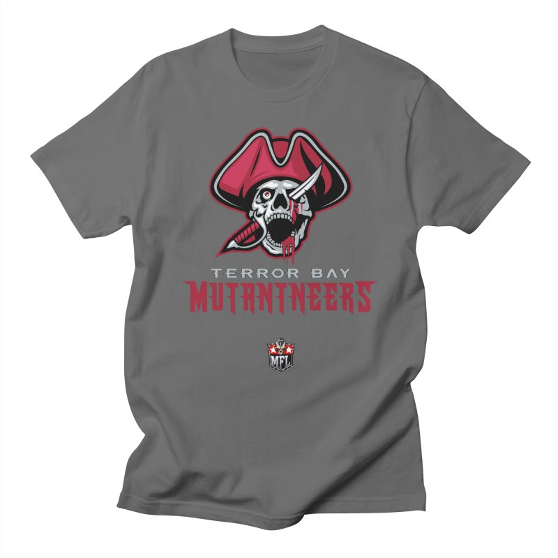 MFL Terror Bay Mutantneers logo Men's T-Shirt by Mutant Football League Team Store