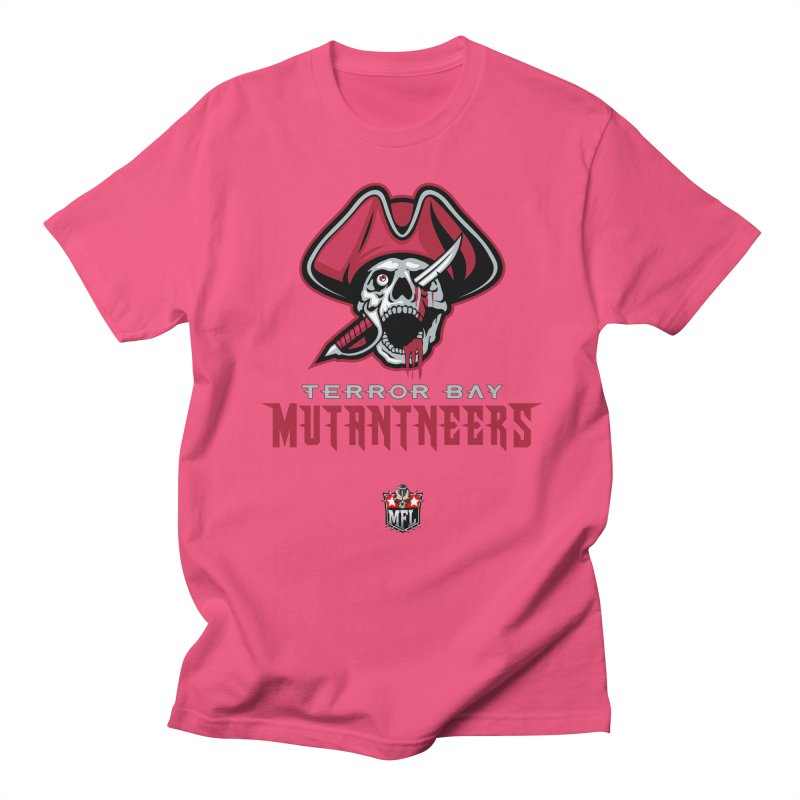 MFL Terror Bay Mutantneers logo Women's T-Shirt by Mutant Football League Team Store