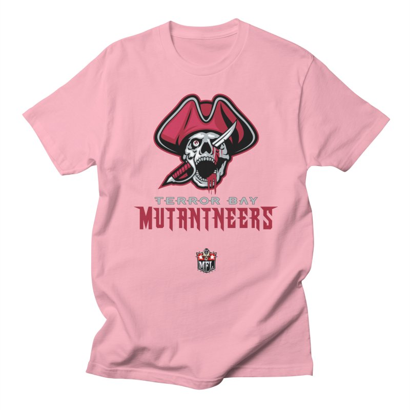 MFL Terror Bay Mutantneers logo Women's T-Shirt by Mutant Football League Team Store