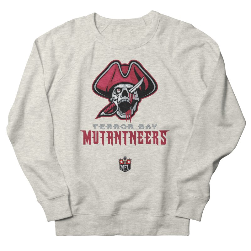 MFL Terror Bay Mutantneers logo Men's Sweatshirt by Mutant Football League Team Store