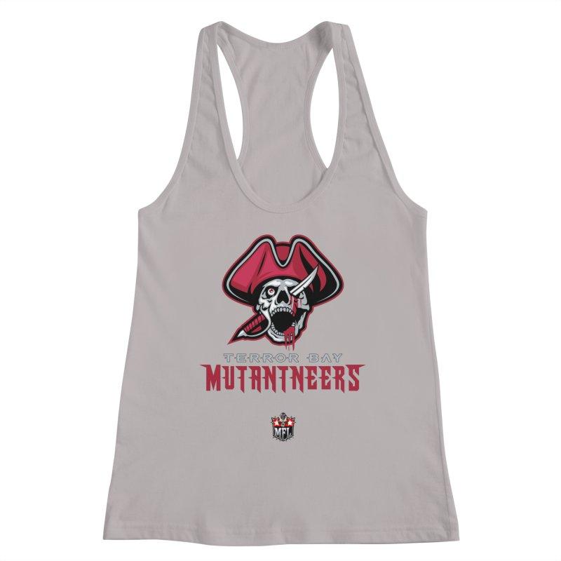MFL Terror Bay Mutantneers logo Women's Tank by Mutant Football League Team Store