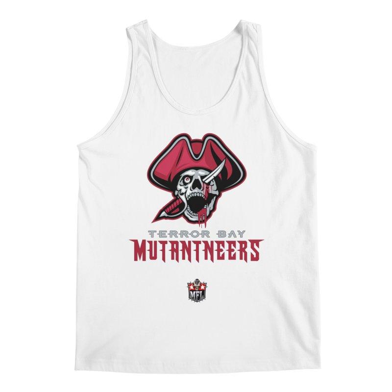 MFL Terror Bay Mutantneers logo Men's Tank by Mutant Football League Team Store