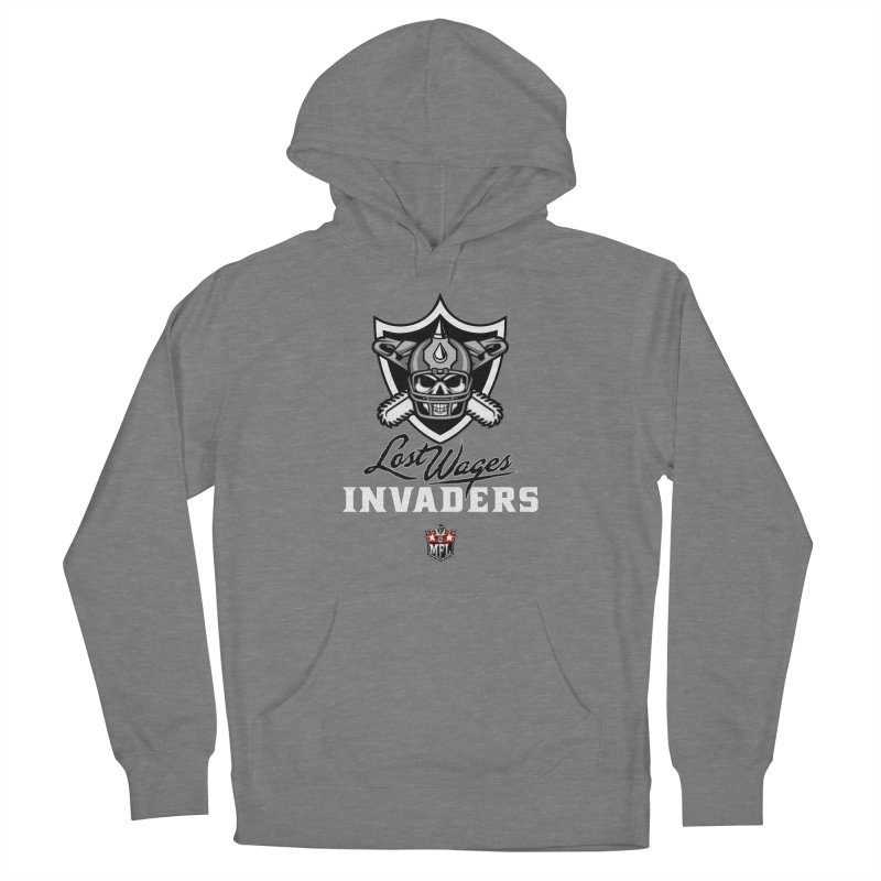 MFL Lost Wages Invaders logo Women's Pullover Hoody by Mutant Football League Team Store