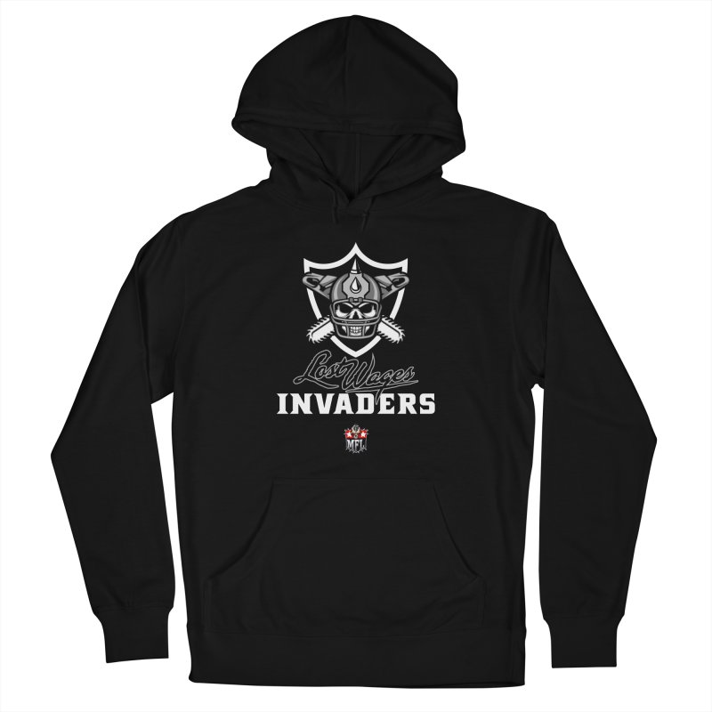 MFL Lost Wages Invaders logo Men's Pullover Hoody by Mutant Football League Team Store