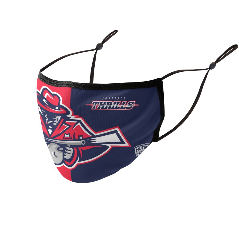 MFL Snuffalo Thrills logo Accessories Face Mask by Mutant Football League Team Store
