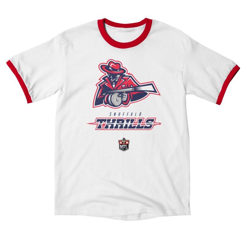 MFL Snuffalo Thrills logo Men's T-Shirt by Mutant Football League Team Store