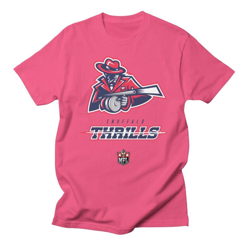 MFL Snuffalo Thrills logo Women's T-Shirt by Mutant Football League Team Store
