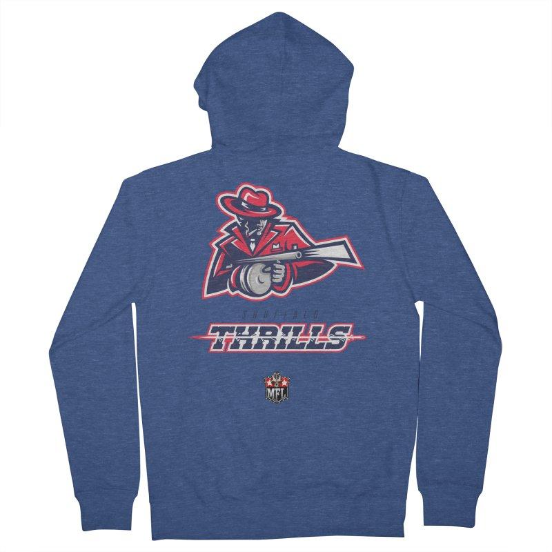 MFL Snuffalo Thrills logo Women's Zip-Up Hoody by Mutant Football League Team Store