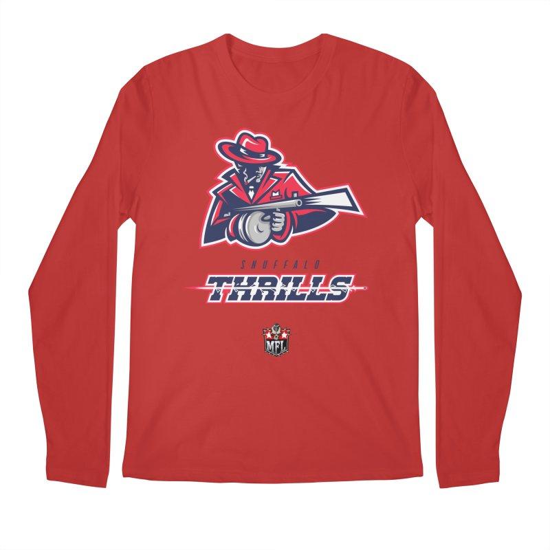 MFL Snuffalo Thrills logo Men's Longsleeve T-Shirt by Mutant Football League Team Store