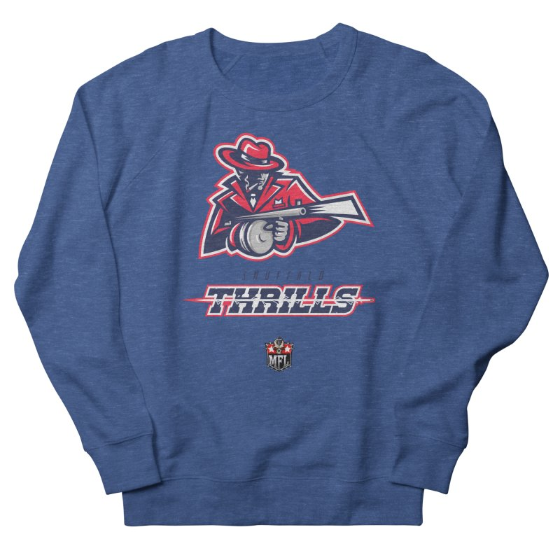 MFL Snuffalo Thrills logo Men's Sweatshirt by Mutant Football League Team Store