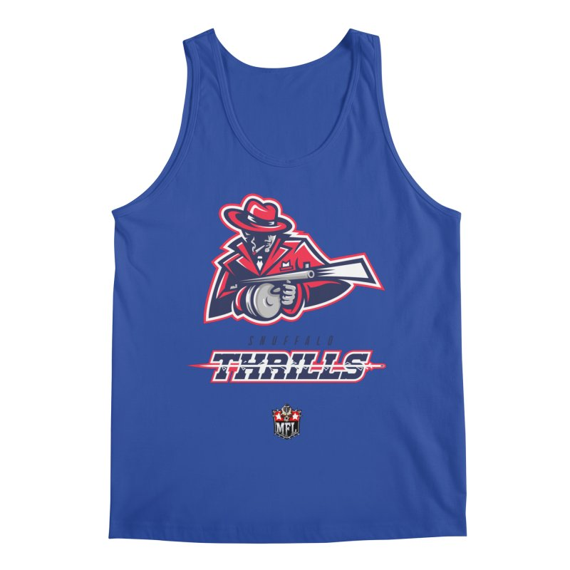 MFL Snuffalo Thrills logo Men's Tank by Mutant Football League Team Store