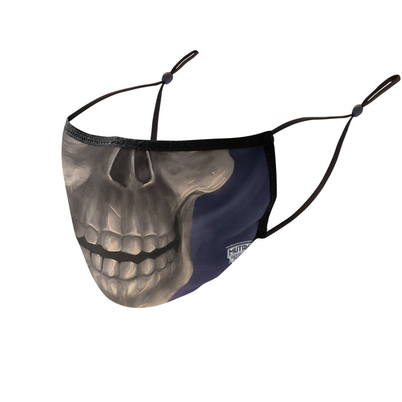 MFL mutant face 7 Accessories Face Mask by Mutant Football League Team Store