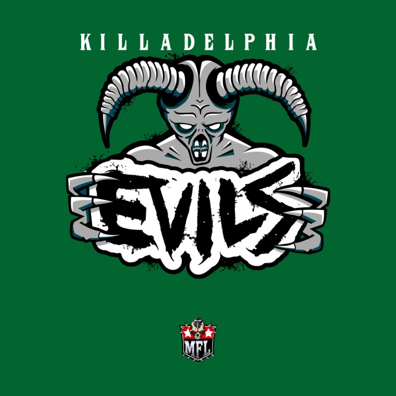 MFL Killadelphia Evils apparel by Mutant Football League Team Store