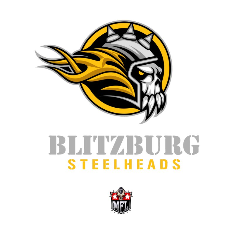 MFL Blitzburg Steelheads apparel by Mutant Football League Team Store