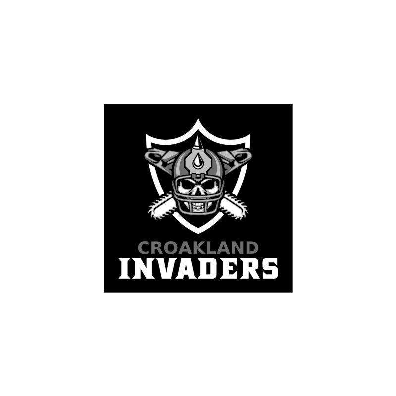 MFL Croakland Invaders logo (classic) Men's T-Shirt by Mutant Football League Team Store