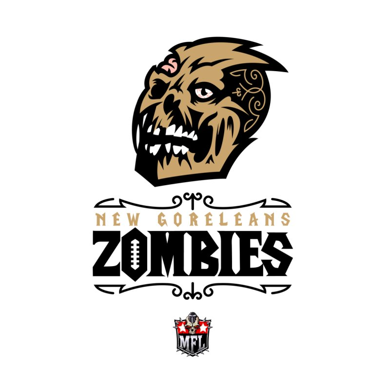 MFL New Goreleans Zombies apparel by Mutant Football League Team Store