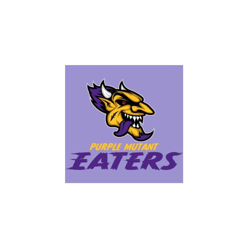 MFL Purple Mutant Eaters logo Men's T-Shirt by Mutant Football League Team Store