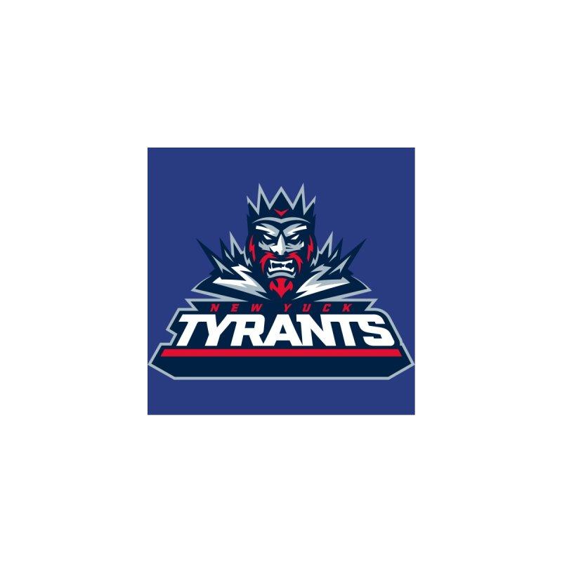 MFL New Yuck Tyrants logo Men's T-Shirt by Mutant Football League Team Store
