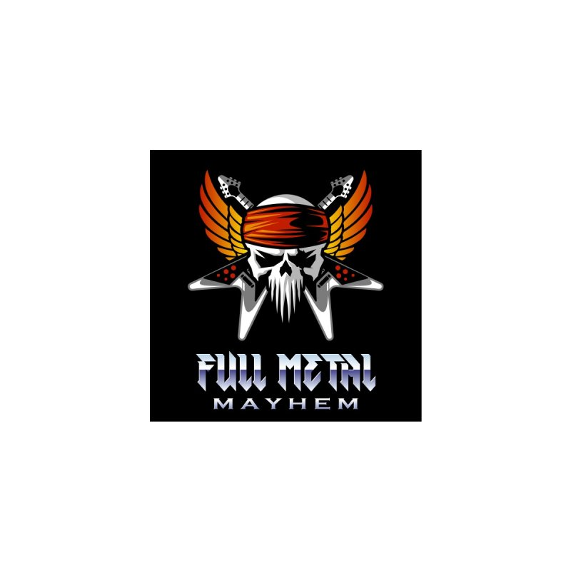 MFL Full Metal Mayhem logo Women's Tank by Mutant Football League Team Store