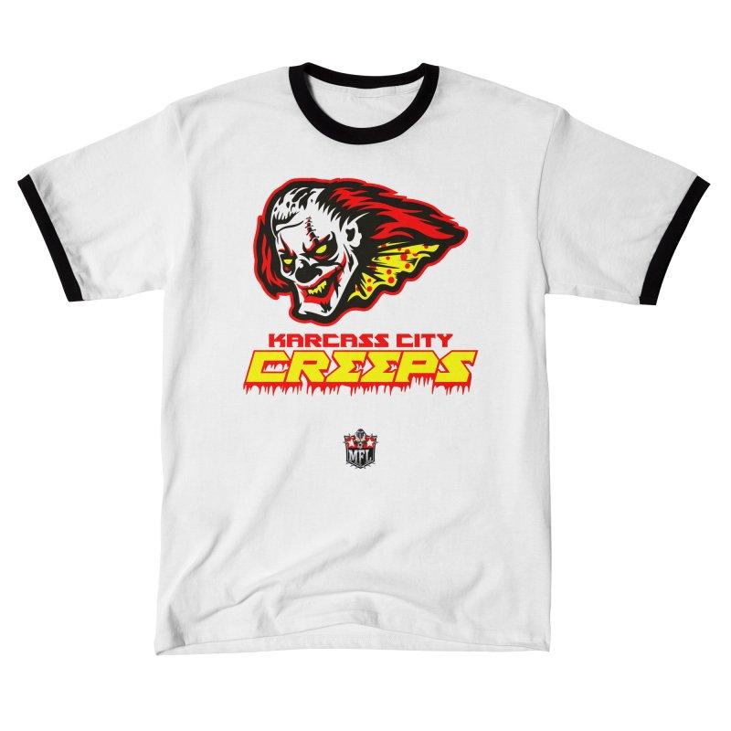 MFL Karcass City Creeps logo Men's T-Shirt by Mutant Football League Team Store