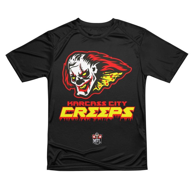 MFL Karcass City Creeps apparel Men's Performance T-Shirt by Mutant Football League Team Store