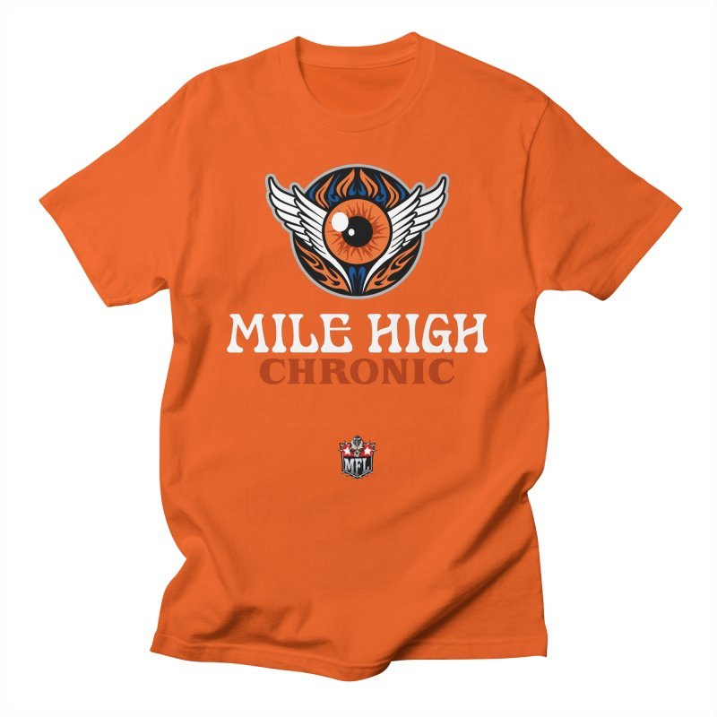MFL Mile High Chronic logo Men's T-Shirt by Mutant Football League Team Store