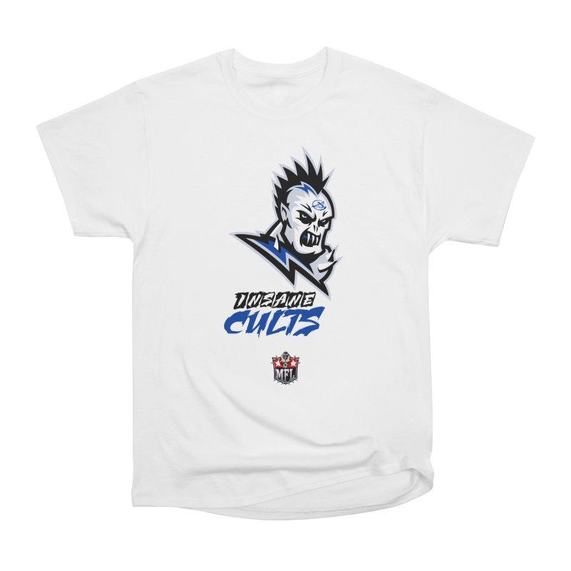 MFL Insane Cults logo Men's T-Shirt by Mutant Football League Team Store