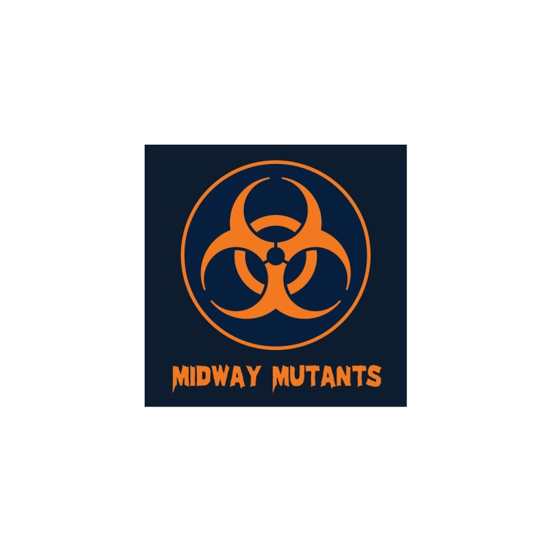 MFL Midway Mutants logo Women's Zip-Up Hoody by Mutant Football League Team Store