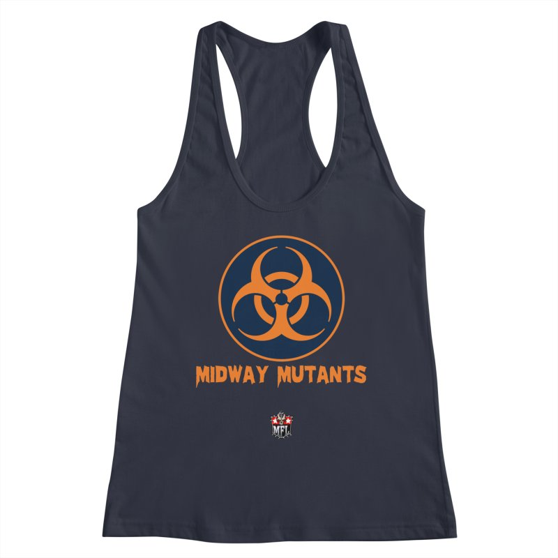 MFL Midway Mutants logo Women's Tank by Mutant Football League Team Store
