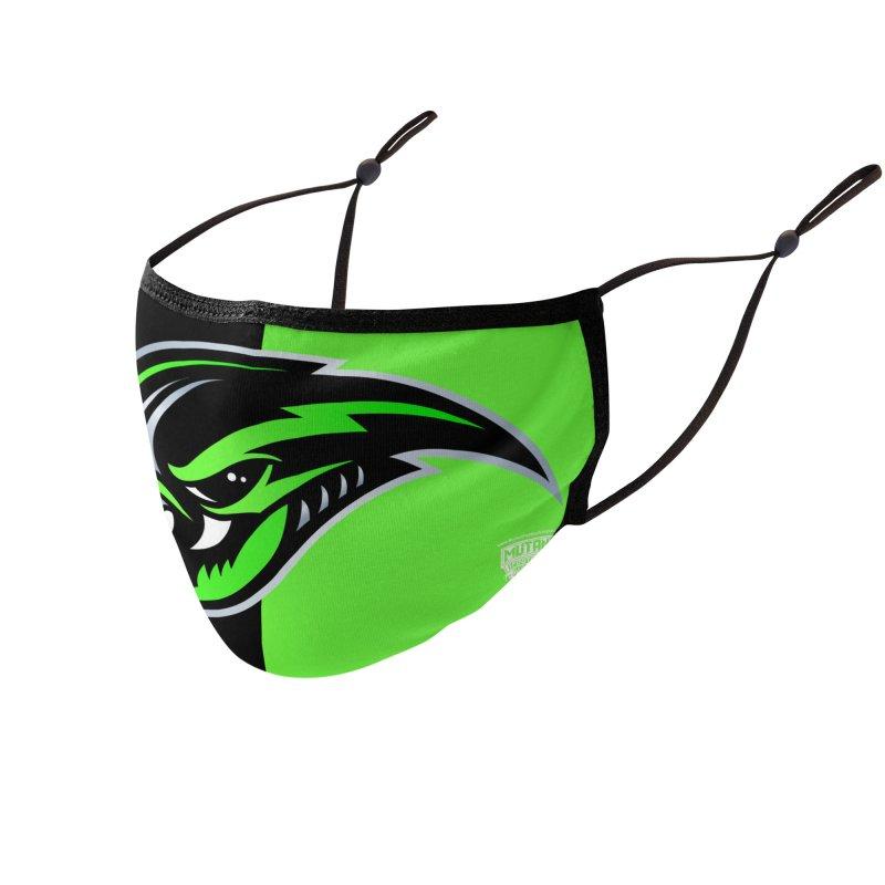 MFL Galaxy Chaos logo Accessories Face Mask by Mutant Football League Team Store