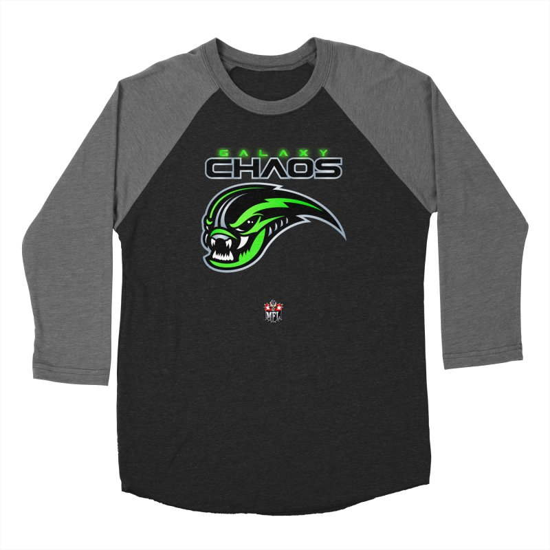 MFL Galaxy Chaos logo Women's Longsleeve T-Shirt by Mutant Football League Team Store