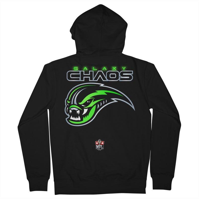 MFL Galaxy Chaos logo Women's Zip-Up Hoody by Mutant Football League Team Store