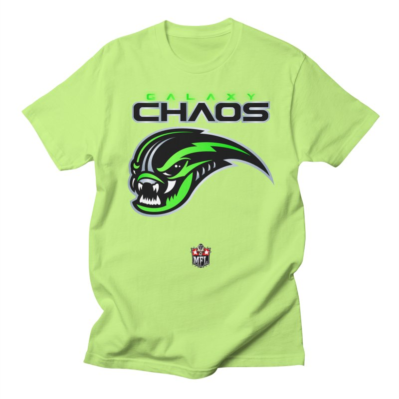 MFL Galaxy Chaos logo Women's T-Shirt by Mutant Football League Team Store