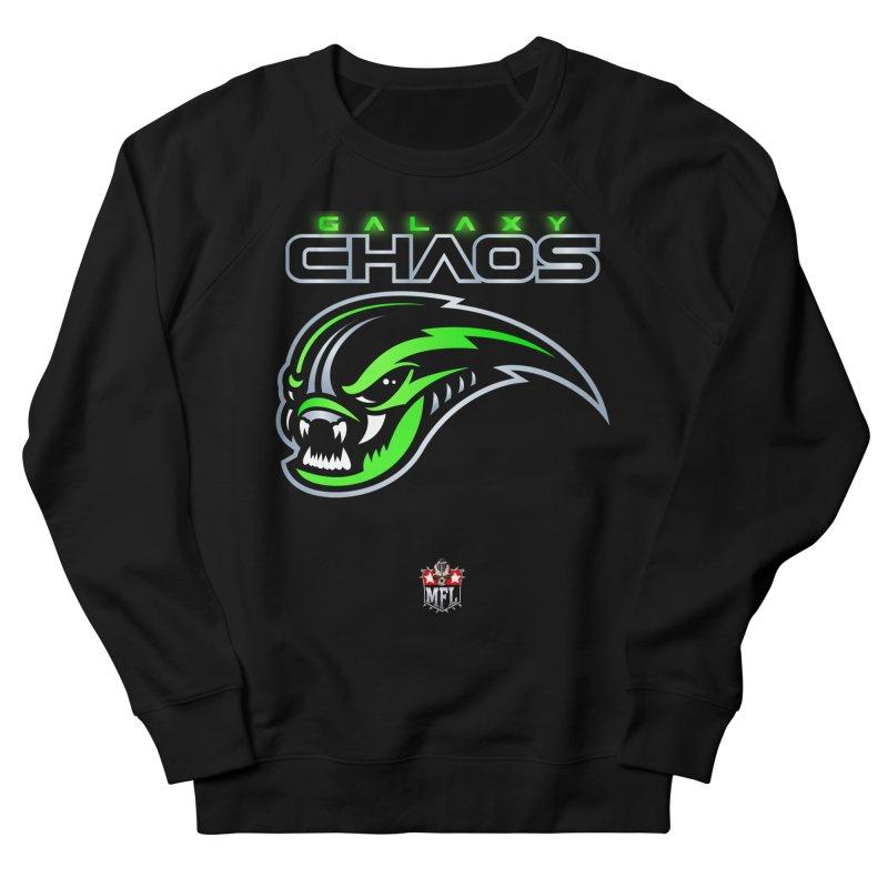 MFL Galaxy Chaos logo Women's Sweatshirt by Mutant Football League Team Store