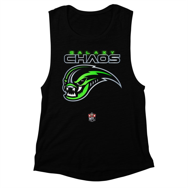 MFL Galaxy Chaos apparel Women's Muscle Tank by Mutant Football League Team Store
