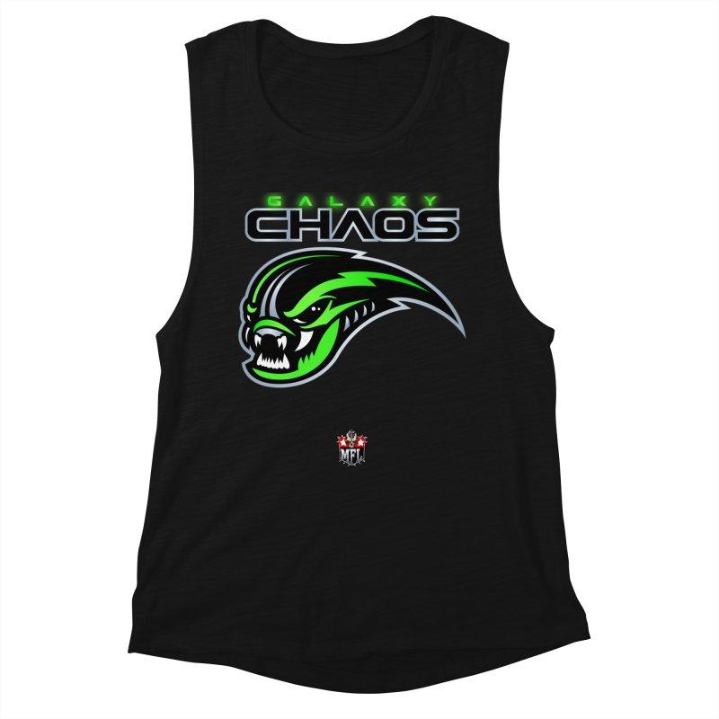 MFL Galaxy Chaos apparel Women's Muscle Tank by Mutant Football League Team Store