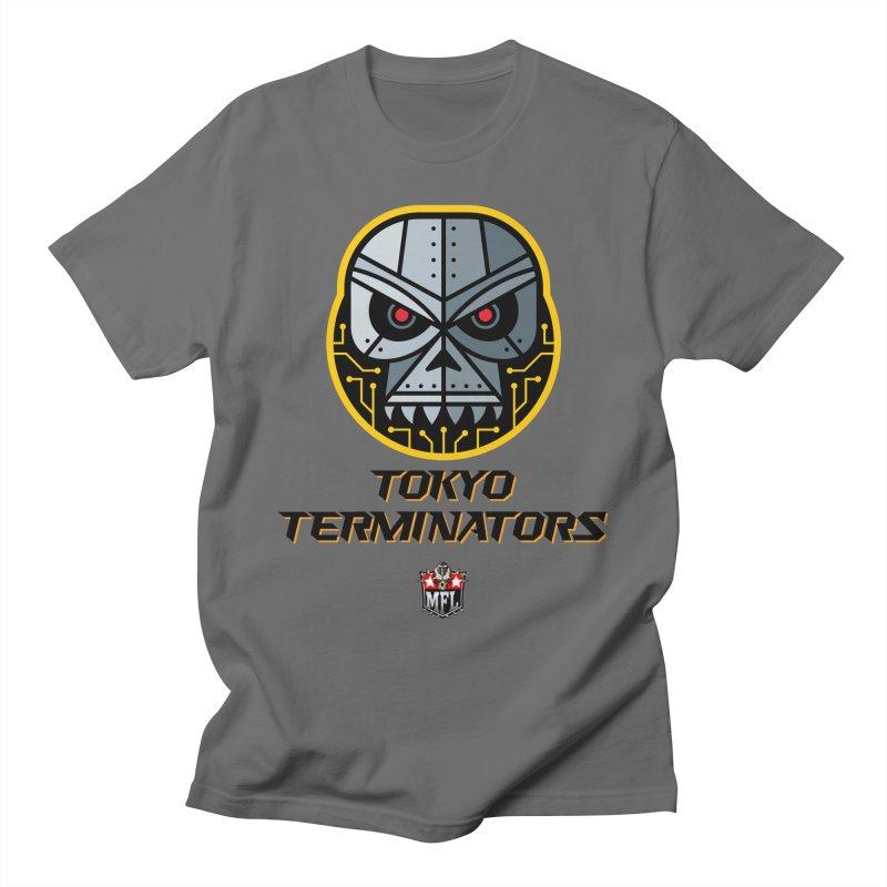 MFL Tokyo Terminators logo Men's T-Shirt by Mutant Football League Team Store