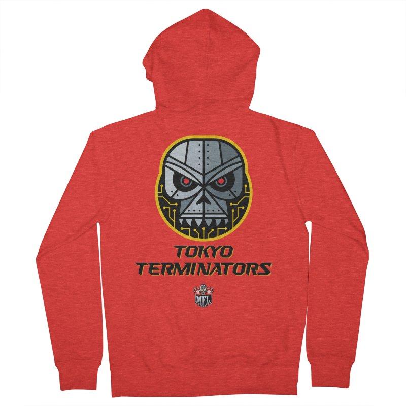 MFL Tokyo Terminators logo Women's Zip-Up Hoody by Mutant Football League Team Store