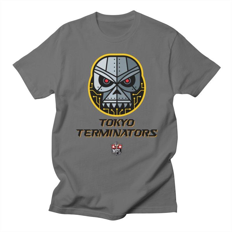 MFL Tokyo Terminators logo Women's T-Shirt by Mutant Football League Team Store