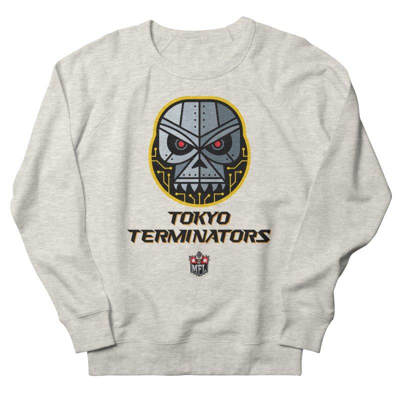 MFL Tokyo Terminators logo Men's Sweatshirt by Mutant Football League Team Store