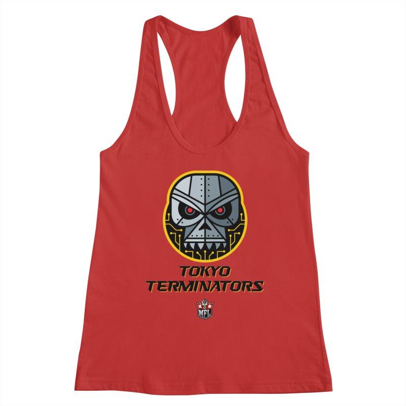 MFL Tokyo Terminators logo Women's Tank by Mutant Football League Team Store