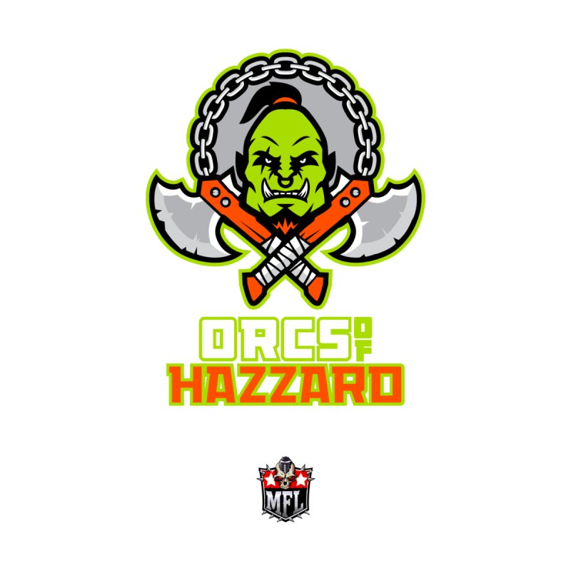 MFL Orcs of Hazzard apparel by Mutant Football League Team Store